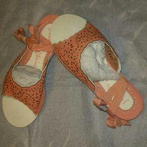 Irregular Choice lace up flat  Sandals